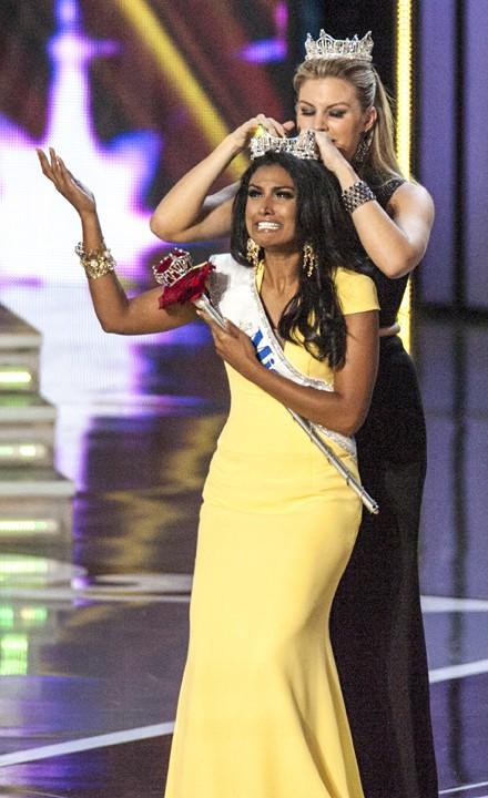Nina Davuluri sacrée Miss America 2014 à Atlantic City le 15 septembre 2013