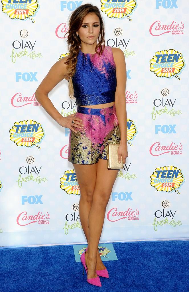 Photos : Nina Dobrev : icône glamour et star de Vampire Diaries !