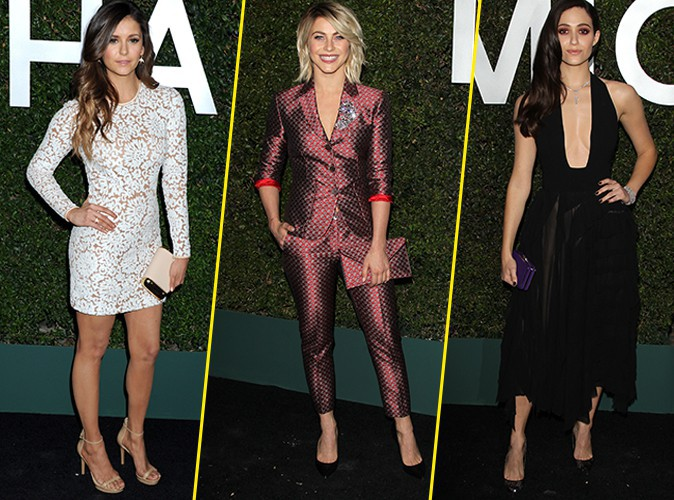 Nina Dobrev, Julianne Hough et Emmy Rossum : plus belles les unes que les autres à la soirée Michael Kors !
