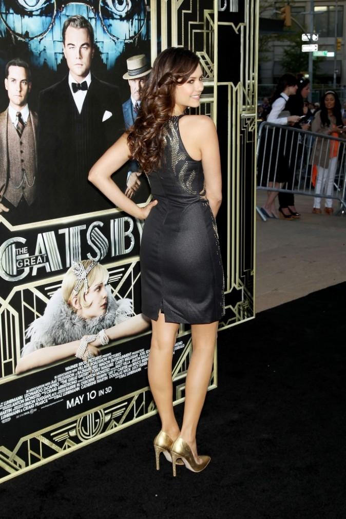 """Nina Dobrev lors de la première du film """"Gatsby le Magnifique"""" à New York, le 1er mai 2013."""