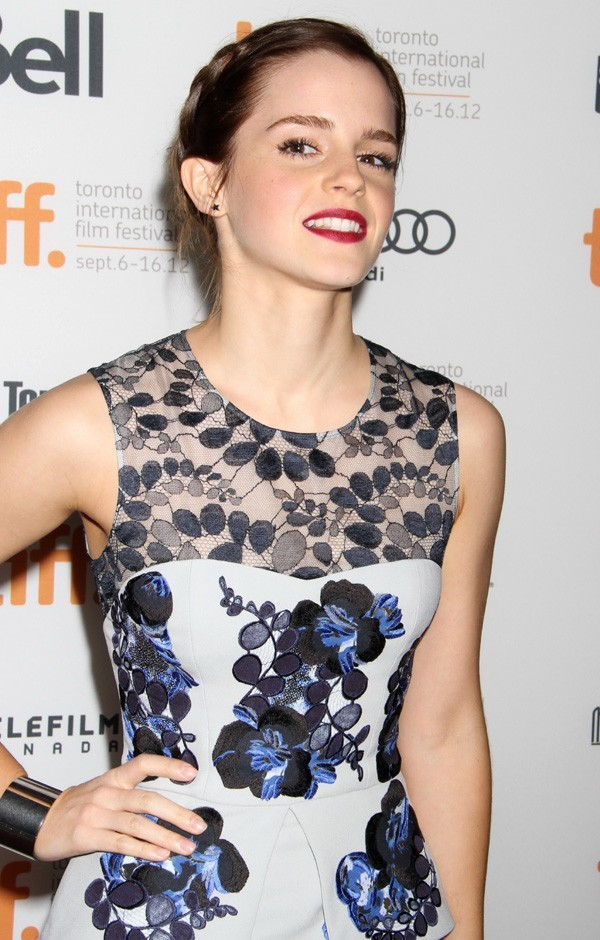 Emma Watson à Toronto le 8 septembre 2012
