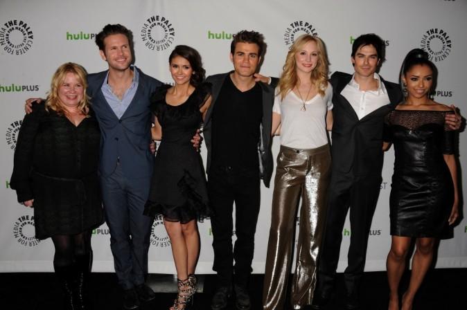 Le casting de Vampire Diaries à Beverly Hills, le 10 mars 2012.
