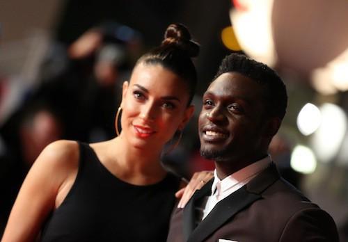 Corneille et sa femme, Sofia, aux NMA 2014 !