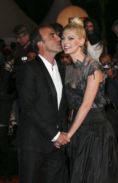 Nikos Aliagas et sa femme, Tina Grigoriou, aux NMA 2014 !