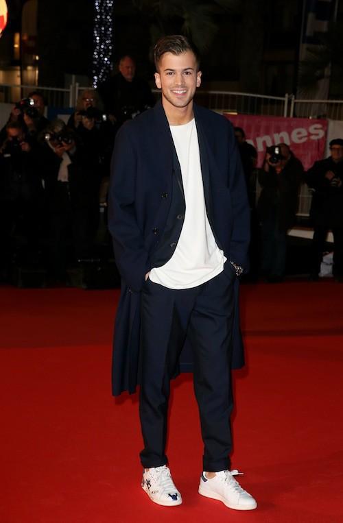David Carreira aux NMA 2014 à Cannes, le 13 décembre 2014