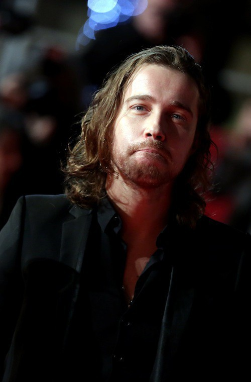 Julien Doré aux NMA 2014 à Cannes, le 13 décembre 2014