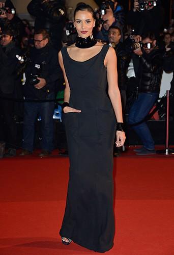 Shy'm à Cannes le 14 décembre 2013
