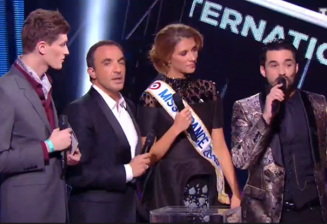 Miss FRance 2015, Camille Cerf aux NMA !