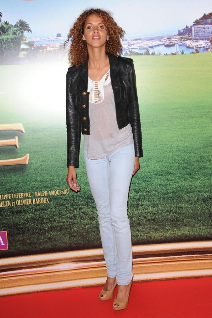 Noemie Lenoir lors de la première du film Les Tuche, le 9 juin 2011 à Paris.