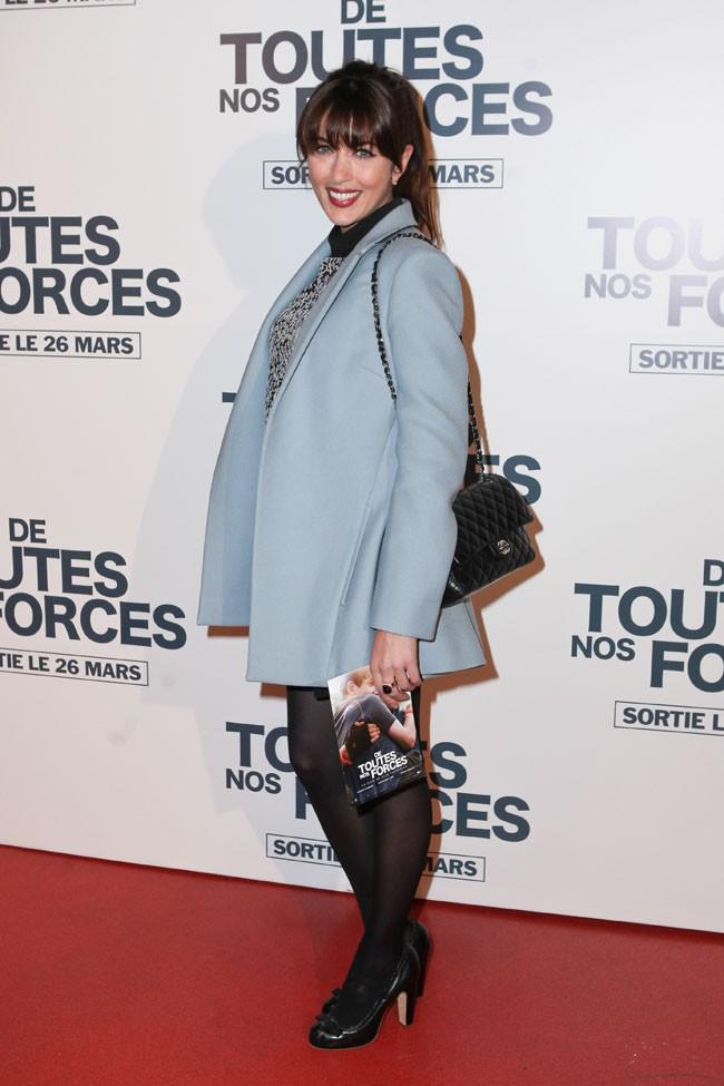 """Nolwenn Leroy à l'avant-première du film """"De toutes nos forces"""" à Paris le 17 mars 2014"""