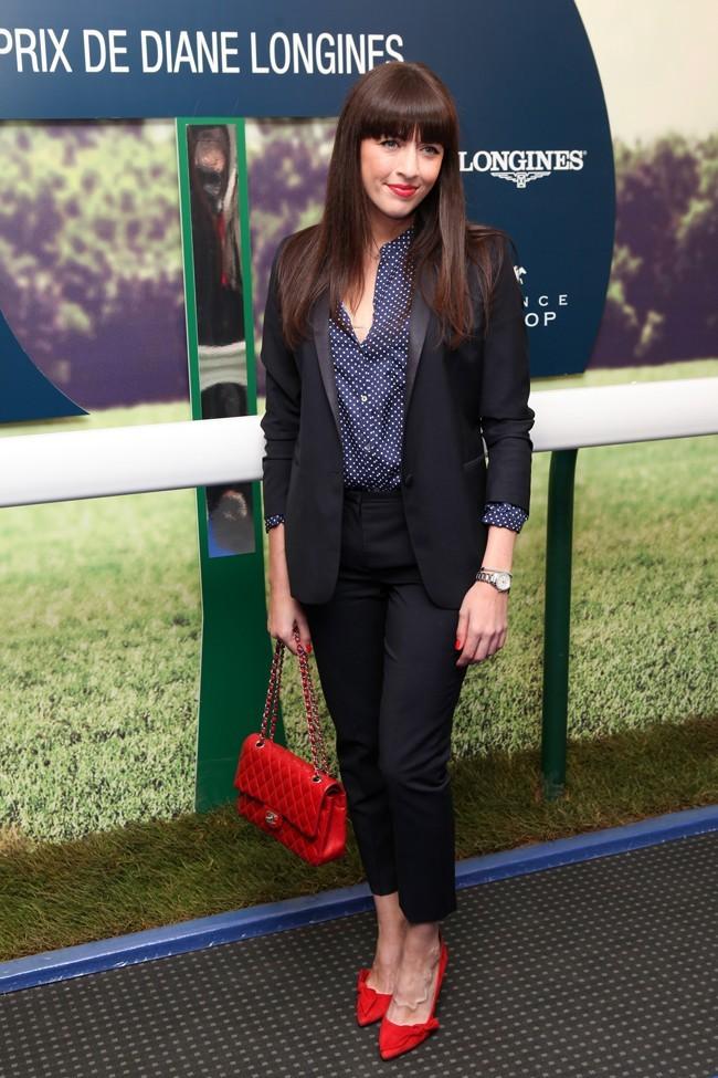 Nolwenn Leroy à la soirée du Prix De Diane Longines organisée au Pavillon Gabriel, à Paris, le 22 mai 2013