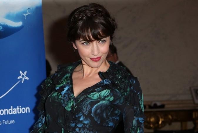 Nolwenn Leroy lors du gala de la fondation Maud Fontenoy à Paris, le 9 avril 2013.