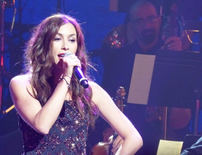 Olivia Ruiz lors du concert en hommage à Edith Piaf à New-York le 19 septembre 2013