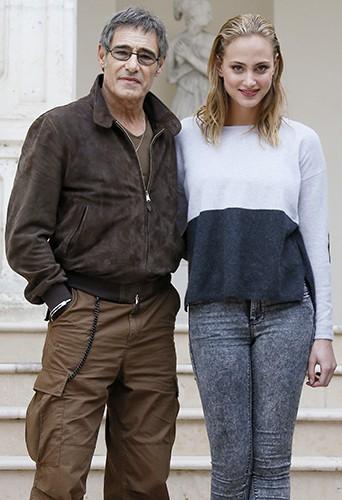 Gérard Lanvin et Nora Arnezeder à Sarlat le 12 novembre 2013