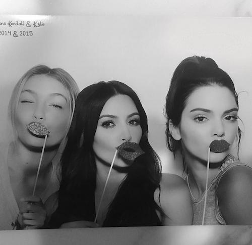 Kim, Kendall et Gigi Hadid