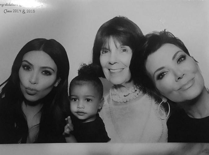 Photos : North, Kim, Kris, Mary Jo : le bonheur sur quatre générations réunies !
