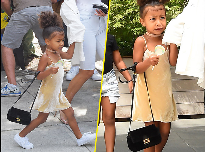 Photos : North West : 3 ans et déjà un sac Fendi à 2000 dollars !