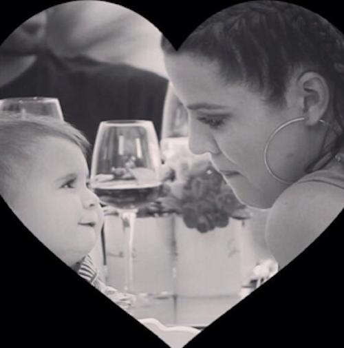 Khloe Karashian avec sa nièce Penelope