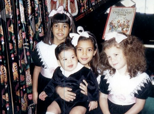 Kourtney, Kim, Khloe et Rob Kardashian