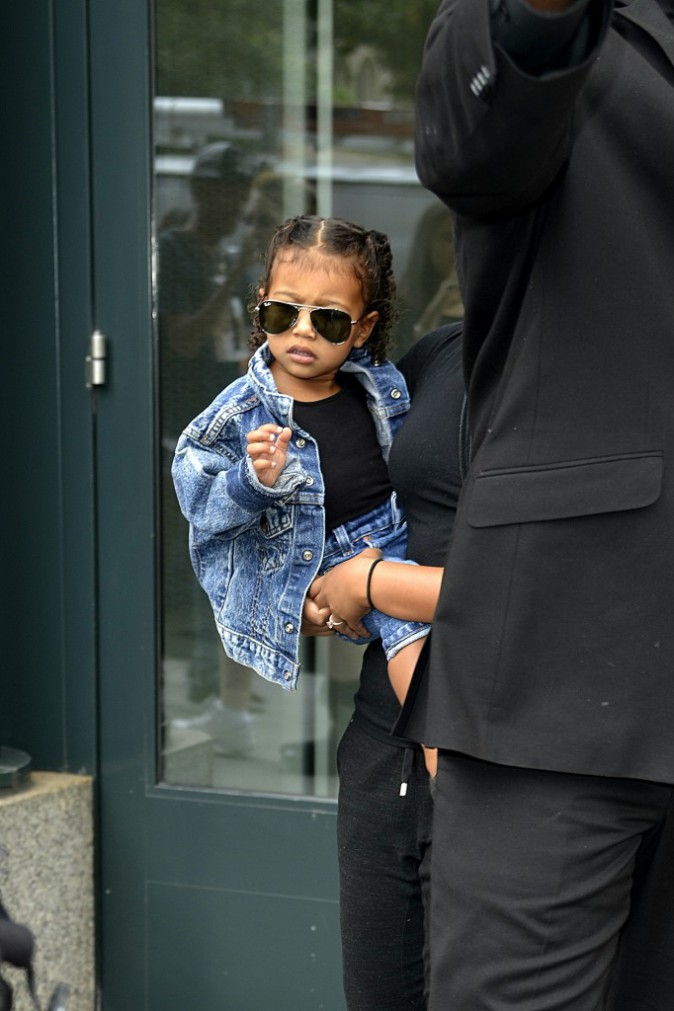 North West à New York le 12 septembre 2015