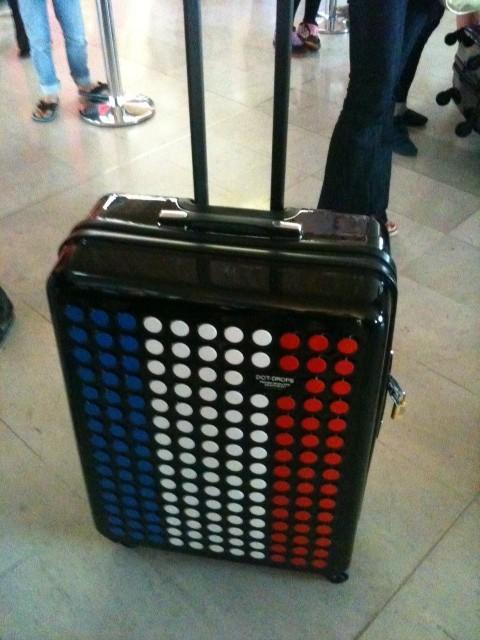 valise aux couleurs de la France