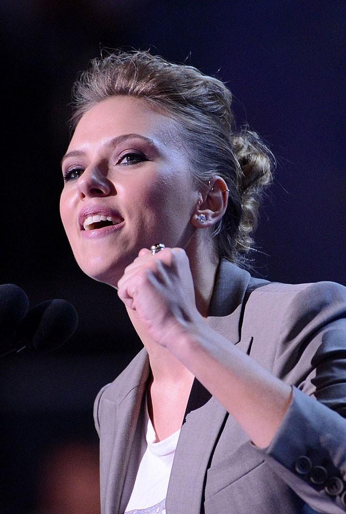 Photos : Scarlett Johansson soutient Barack Obama