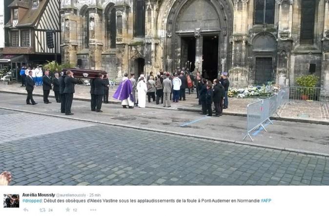 Obsèques d'Alexis Vastine : l'INSEP au grand complet pour dire adieu au champion !