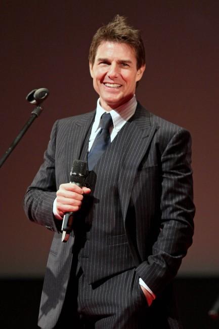Tom Cruise, beau gosse à Moscou