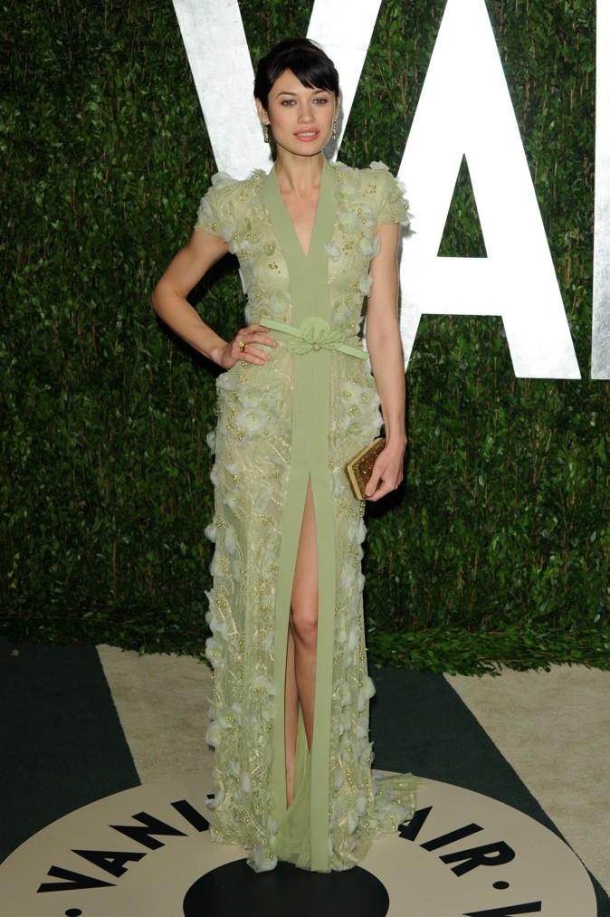 Olga Kurylenko à la fête organisée pour les Oscars Vanity Fair !