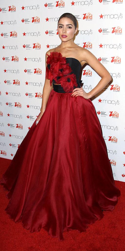 Olivia Culpo en robe de soirée