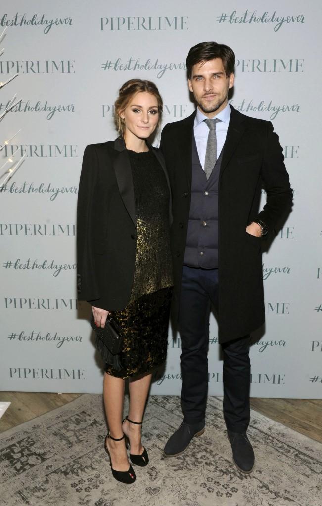 Olivia Palermo et Johannes Huebl le 9 décombre 2014