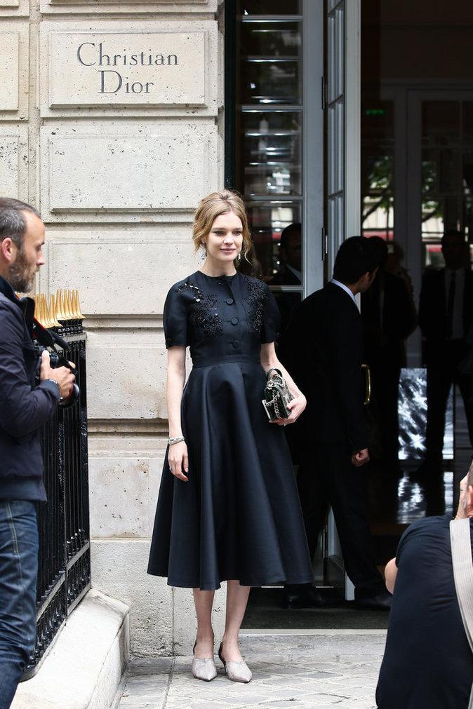 Natalia Vodianova à Paris le 4 juillet 2016