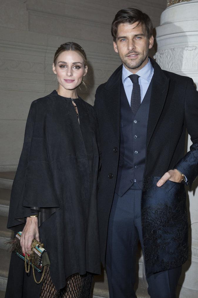 Photos : Olivia Palermo en couple fashion chez Valentino!