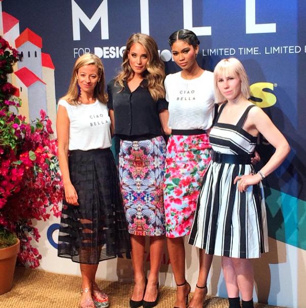 Photos : Olivia Palermo et Chanel Iman : toujours prêtes à aider un jeune talent !