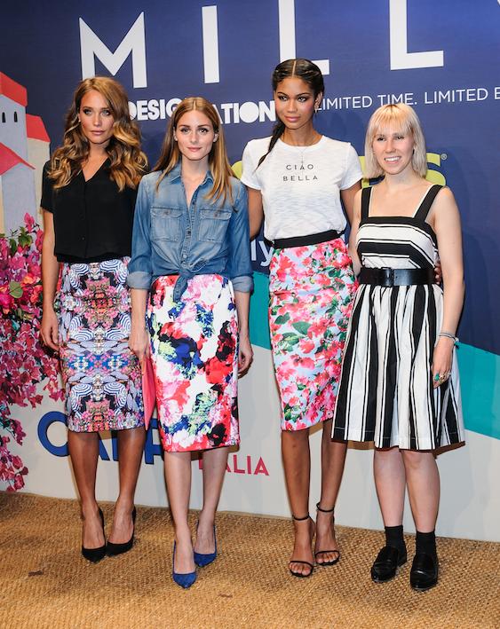 Olivia Palermo et Chanel Iman : toujours prêtes à aider un jeune talent !