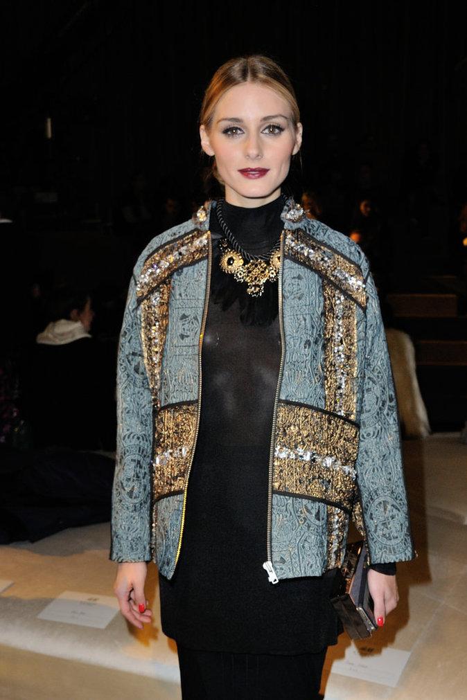 Photos : Olivia Palermo et Ciara éclipsent la concurrence à la fashion week de Paris!