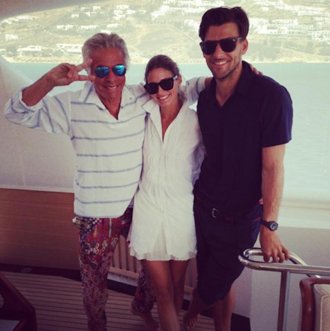 Olivia Palermo et Johannes Huebl sont amis avec le président de Valentino, Giancarlo Giammetti !