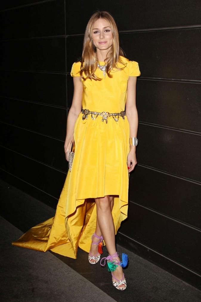 """Olivia Palermo lors du gala de charité """"New Yorkers For Children"""" à New York, le 9 avril 2013."""
