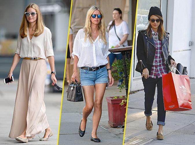 Olivia Palermo, Nicky Hilton, Jessica Alba... Ces stars qui aiment les ballerines !