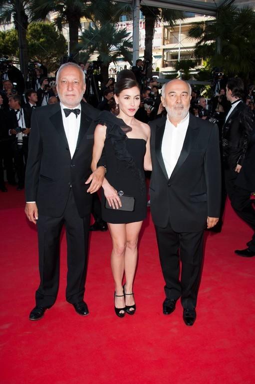Olivia Ruiz, François Berléand et Gérard Jugnot lors du Festival de Cannes, le 15 mai 2011.