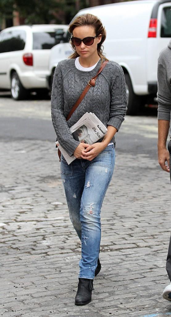 Olivia Wilde le 18 septembre 2012 à New York