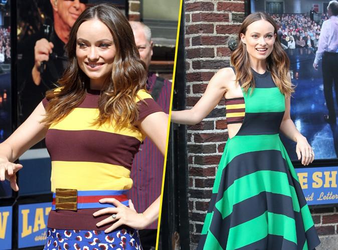 Olivia Wilde à New York le 17 juin 2014