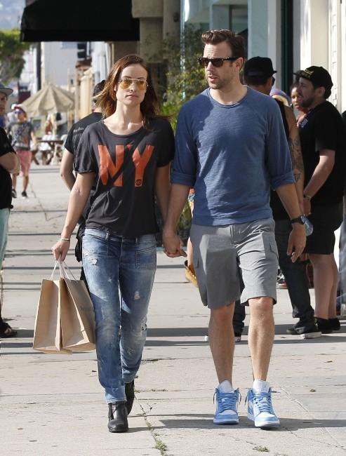 Olivia Wilde et Jason Sudeikis le 1er juin à Los Angeles