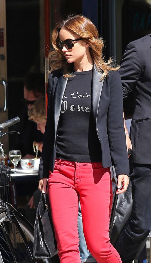 Olivia Wilde le 24 septembre 2012 à New York