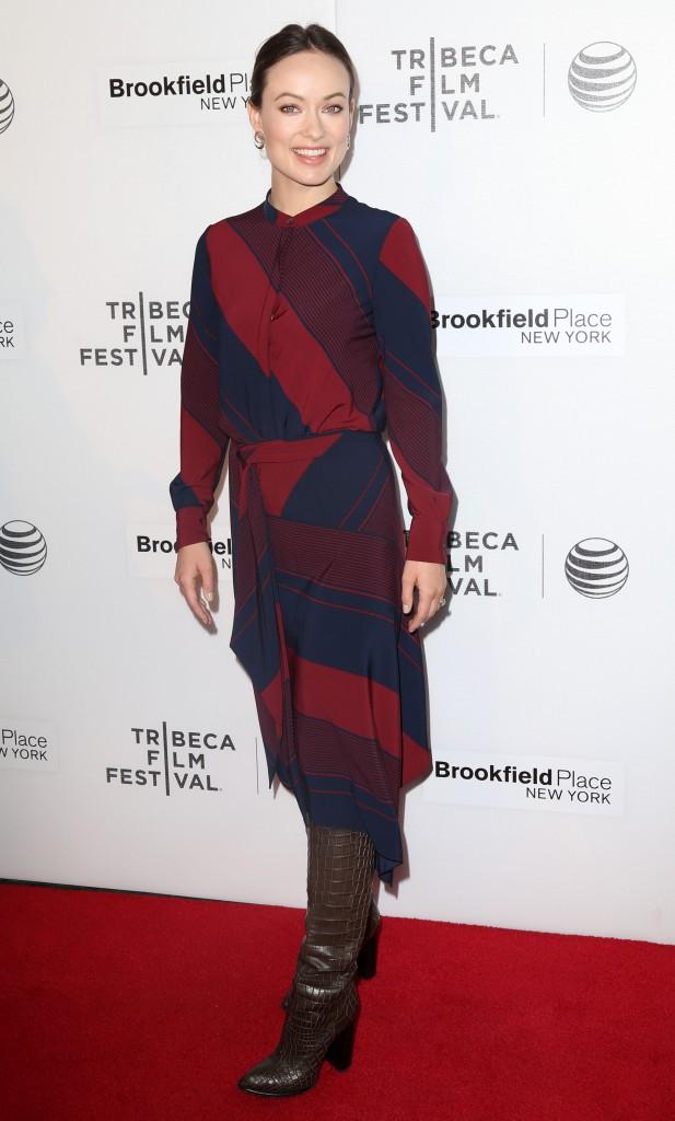 Olivia Wilde le 19 avril 2015