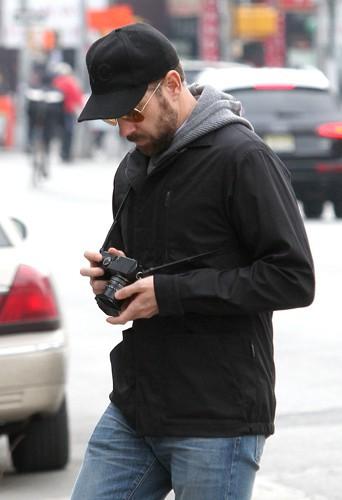 Jason Sudeikis à New York le 10 mars 2014