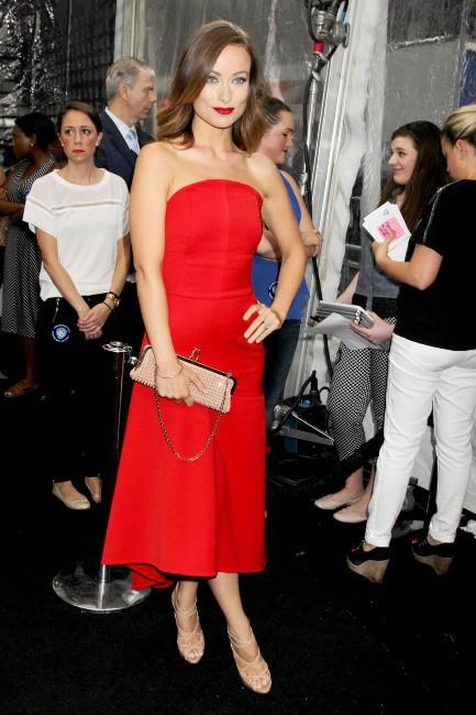 """Olivia Wilde lors de la première du film """"We're the Millers"""" à New York, le 1er août 2013."""