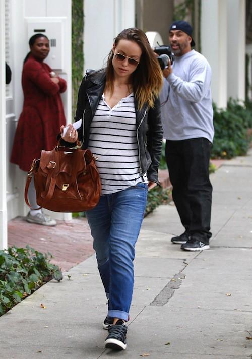 Photos : Olivia Wilde : la future maman dévoile enfin un ventre bien rond !