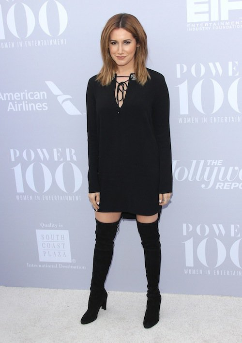 Ashley Tisdale à la soirée Women in Entertainment à Los Angeles, le 5 décembre 2015
