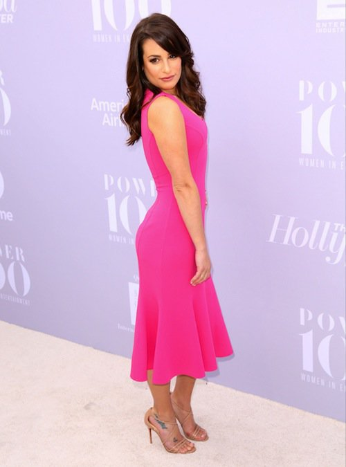 Lea Michele à la soirée Women in Entertainment à Los Angeles, le 5 décembre 2015